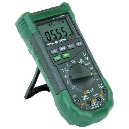 14 Function Professional Digital Multimeter with Sound Level and Luminosity (Cen Tech Digital Multimeter compare prices)