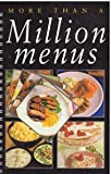 More Than a Million Menus (0785801340) by Linda Doeser