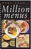 More Than a Million Menus (0785801340) by Linda Doeser