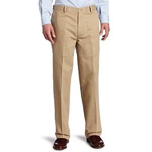 Dockers Men's - Comfort Khaki D4 Relaxed Fit Flat Front (Khaki) Men's Casual Pants