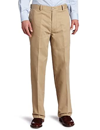 Dockers Men's Comfort Khaki D4 Relaxed Fit Flat Front Pant, Khaki, 30x30
