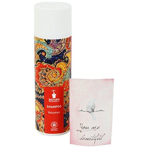 BIOTURM - Shampoo Volumizzante con Estratto di Camomilla ed Aloe Vera - Ideale per Capelli Fini e Spenti