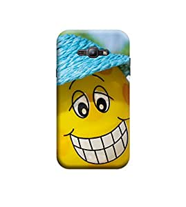 Ebby Premium Printed Back Case Cover With Full protection For Samsung Galaxy J1 (Designer Case)