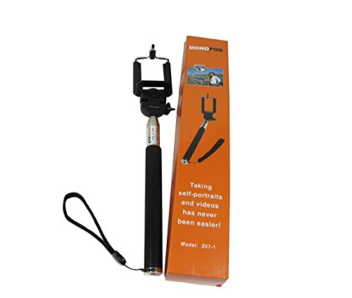 selfie stick with bluetooth remote shutter available at amazon for. Black Bedroom Furniture Sets. Home Design Ideas