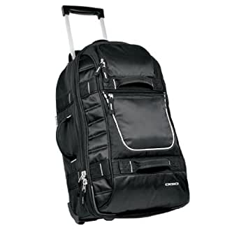 OGIO - Pull-Through Rolling Suitcase in Black - One Size