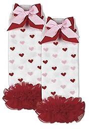 Bearington Baby Valentine\'s Day Sweethearts Leg Warmers