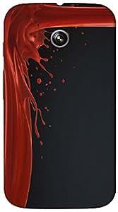 Timpax protective Armor Hard Bumper Back Case Cover. Multicolor printed on 3 Dimensional case with latest & finest graphic design art. Compatible with Motorola Moto -E-1 (1st Gen )Design No : TDZ-24887