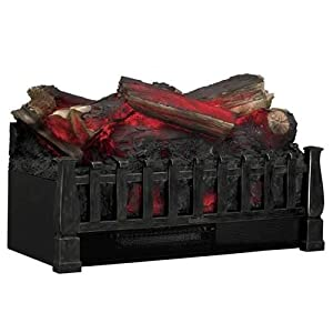 Duraflame Freestanding Electric Log Set w/ Flame Effect & Heat