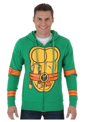 Teenage Mutant Ninja Turtles Costume Zip Hoodie