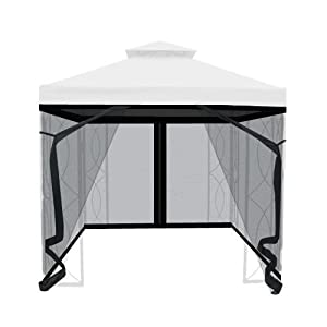 Amazon.com : 8' x 8' Gazebo Insect Netting : Patio, Lawn ...