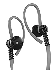 buy Popclik Flex Earphones Gray For Android With Microphone & Control