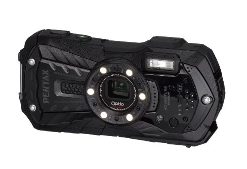 PENTAX Optio WG-2 16 MP Rugged Waterproof Digital Camera with 5X Optical Zoom and 3-inch LCD (Black)