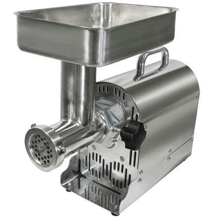 Weston 08-1201-W Number 12 Commercial Meat Grinder, 3/4-HP