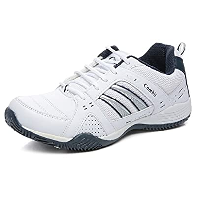 Combit White and Blue Sport Shoes for Men