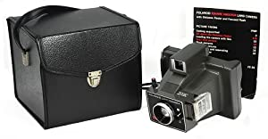 Polaroid SquareShooter Land Camera, Distance Finder, Focused Flash, Case, Manual
