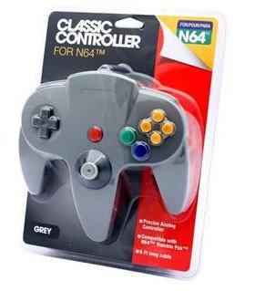 Imagen de Nintendo N64 Classic Controller Gris