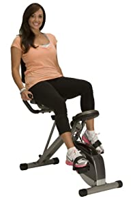 Exerpeutic 400XL Folding Recumbent Bike by Exerpeutic
