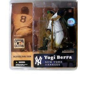 McFarlane Toys MLB Cooperstown Series 1 Action Figure Yogi Berra (New York Yankees) Regular Hat Variant