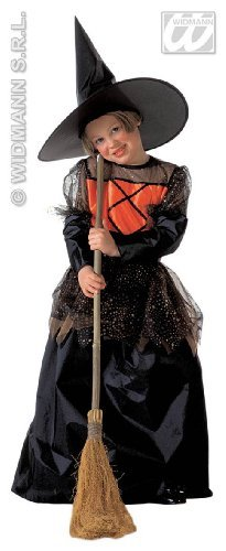 Girls Little Witch Deluxe Child Costume Small 11-13 yrs for Halloween