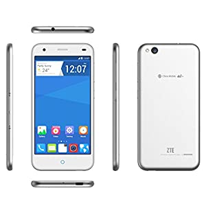ZTE Blade S6 LTE 4G Smartphone Octa Core 1.5GHz Dual SIM 5'' Zoll IPS HD Screen Android 5.0 Handy ohne Vertrag Qualcomm MSM8939 2GB+16GB 13.0MP+5.0MP Dual Kameras GPS Air Gesture WIFI Silber