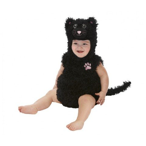 Just Pretend Kids Black Cat Animal Costume, Small