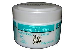 Lemon Tea Tree Cream W Vitamin E Is a Multi-functional Australian Essential Oil. - 250 GM
