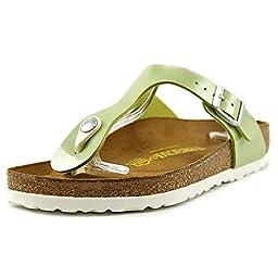 Birkenstock Women\'s Gizeh Sandal Pearly Apple Birko-Flor Size 38 M EU