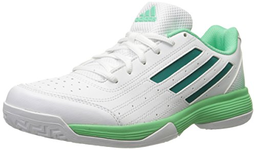 Adidas Performance Women's Sonic Attack Running Shoe,White/Equipment Green/Green Glow,10 M US