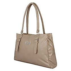 Glory Fashion Women's Stylish Handbag Beige BB-001-B00177