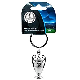 Official UEFA Champions League 3D Trophy Keyring