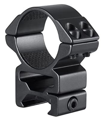 Hawke Sport Optics 22117 Riflescope Rings - Weaver 30mm High 2 pc, Black by Hawke Sport Optics