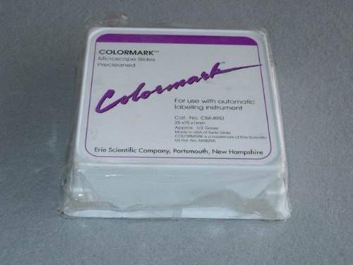 Colormark Slides For Labeling Instruments (White) (144 Per Pack)