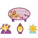 Disney Tangled Mini Molded Candles - 4/Pkg.