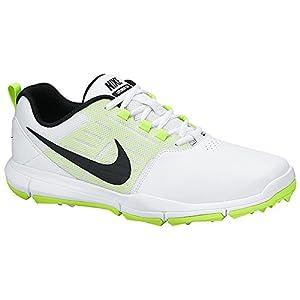 Nike Golf - Explorer SL (White/Volt/Black) Men's Golf Shoes