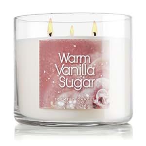 Bath & Body Works Signature Collection 14.5 Oz. 3-wick Candle Warm Vanilla Sugar
