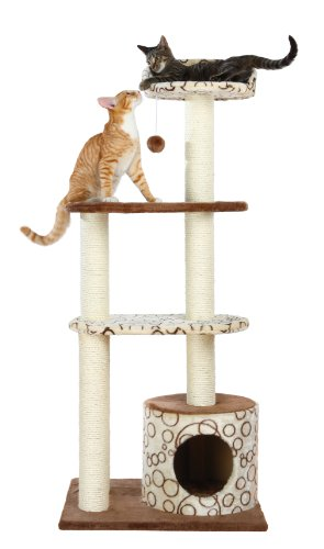 TRIXIE Pet Products Gaspard Cat Tree House