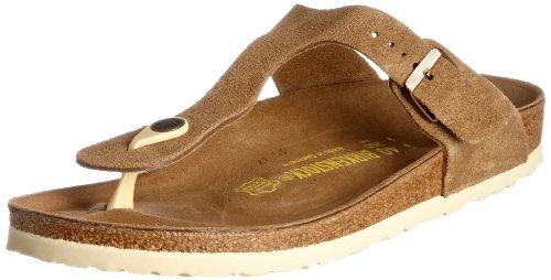 birkenstock gizeh sandals velors braun brown suede uk 3. Black Bedroom Furniture Sets. Home Design Ideas