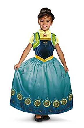 Anna Frozen Fever Deluxe Child Dress 97185