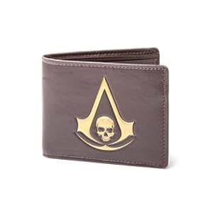 Assassins Creed - Symbol Schädel Designer Geld-Börse Geldbeutel Portemonnaie Original & Lizensiert