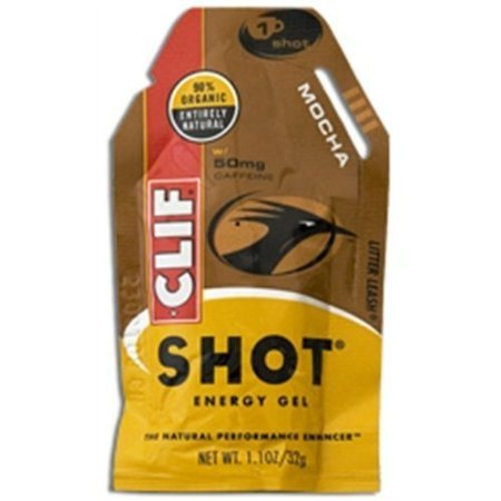Clif Bar Organic Mocha Shot, 1.2 Ounce -- 24 Per Case.
