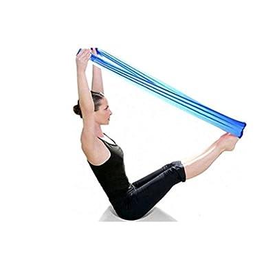 UIarma Fitnessbänder Übungsband Stretch Out Strap Pilates Yoga Workout Aerobic elastisch dehnbaren Band Gurt