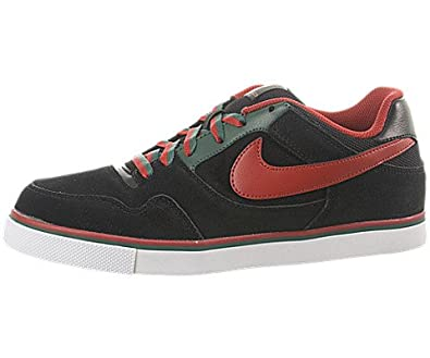 Nike Paul Rodriguez 2.5 Jr (Kids) - Black / Varsity Red-Noble Green, 4 M US