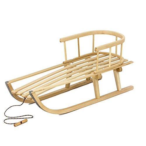 Luge-en-bois-classique-avec-dossier-longueur-87-cm-charger-jusqua-30-kg