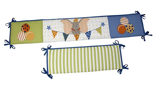 Disney Dumbo Traditional Padded Bumper, Blue - 1