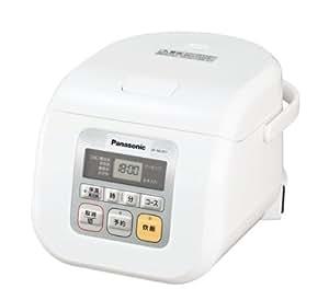 Panasonic マイコン 電子ジャー炊飯器 3合 ホワイト SR-ML051-W
