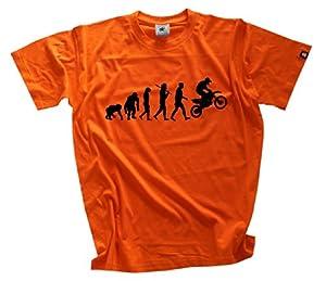 Standard Edition Motocross Evolution T-Shirt S-XXL Orange XXL