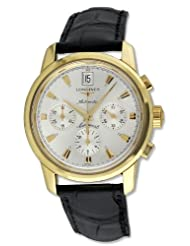 Longines Conquest Heritage Automatic Chronograph 18kt Gold Mens Watch L1.641.6.72.2