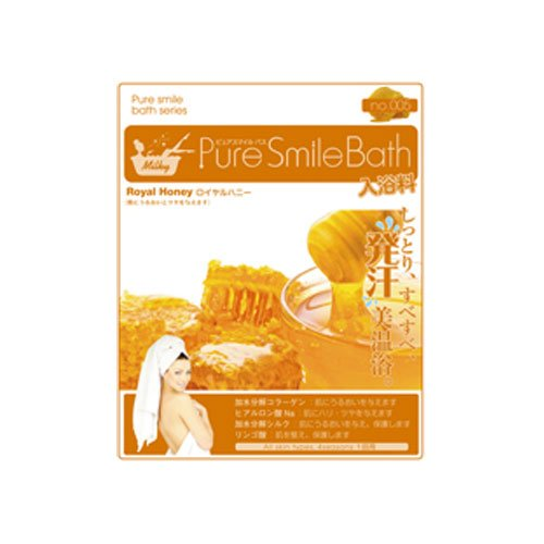 Pure Smile Bath ロイヤルハニー12枚セット