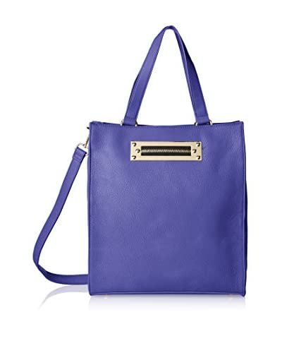Nila Anthony Women's Zip Plate Tote, Purple