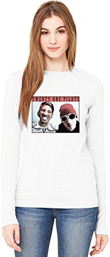 Twenty One Pilots T-Shirt da Donna a Maniche Lunghe Long-Sleeve T-shirt For Women| 100% Premium Cotton Ultimate Comfort X-Large
